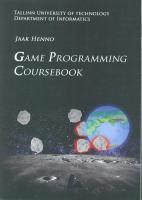 Game Programming Coursebook