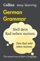 Easy Learning German Grammar: Trusted Support for Learning 4th Revised edition, Easy Learning German Grammar