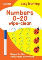Numbers 0-20 Age 3-5 Wipe Clean Activity Book edition, Numbers 0-20 Age 3-5 Wipe Clean Activity Book