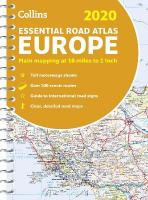 2020 Collins Essential Road Atlas Europe New edition