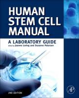 Human Stem Cell Manual: A Laboratory Guide 2nd Revised edition