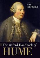 Oxford Handbook of Hume