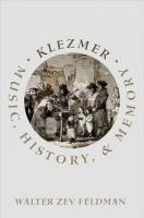 Klezmer: Music, History, and Memory