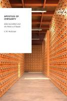 Apostles of Certainty: Data Journalism and the Politics of Doubt