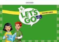 Let's Go: Level 4: Teacher Cards 5th Revised edition