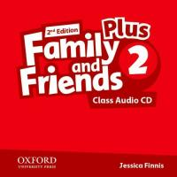 Family & Friends 2e Plus 2 Class Audio CD