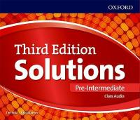 Solutions: Pre-Intermediate: Class Audio CDs 3rd Revised edition