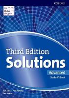 Solutions: Advanced: Student's Book and Online Practice Pack 3rd Revised edition