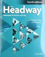New Headway: Advanced C1: Workbook  with Key: The world's most trusted English course 4th Revised edition