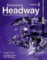 American Headway: Level 4: Workbook: The World's Most Trusted English Course 2nd Revised edition, Level 4, Workbook