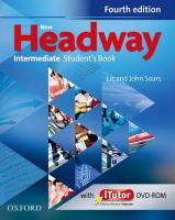 New Headway: Intermediate B1: Student's Book and iTutor Pack: The world's most trusted English course 4th Revised edition
