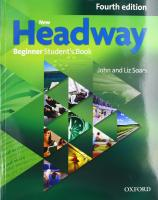 New Headway: Beginner A1: Student's Book  4th Revised edition