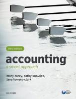 Accounting: A Smart Approach 3rd Revised edition
