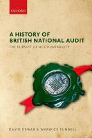 History of British National Audit:: The Pursuit of Accountability