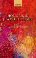 Holiness in Jewish Thought