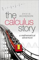 Calculus Story: A Mathematical Adventure