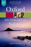 Oxford Dictionary of Saints, Fifth Edition Revised