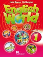 English World 1 Student Book: Student Book