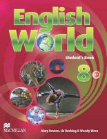 English World 8 Student's Book: Student Book