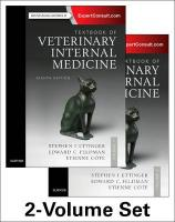 Textbook of Veterinary Internal Medicine Expert Consult 8th Revised edition