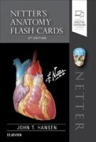 Netter's Anatomy Flash Cards 5th Revised edition