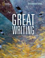 Great Writing Foundations 5th edition