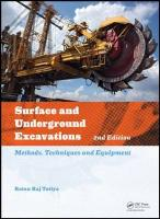 Surface and Underground Excavations, 2nd Edition: Methods, Techniques and Equipment 2nd New edition