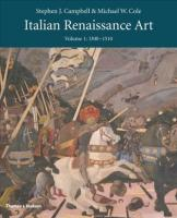 Italian Renaissance Art: Volume One 2nd ed.
