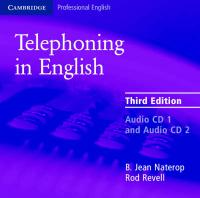Telephoning in English Audio CD 3rd Revised edition