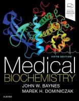 Medical Biochemistry 5th Revised edition