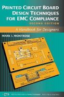 Printed Circuit Board Design Techniques for EMC Compliance: A Handbook for Designers 2nd Edition