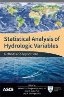 Statistical Analysis of Hydrologic Variables: Methods and Applications