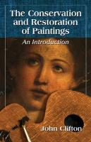 Conservation and Restoration of Paintings: An Introduction