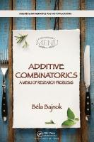 Additive Combinatorics: A Menu of Research Problems