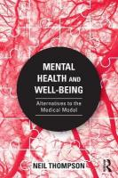 Mental Health and Well-Being: Alternatives to the Medical Model
