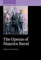 Operas of Maurice Ravel