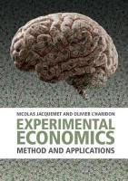 Experimental Economics: Method and Applications