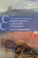 Cambridge Companion to Nineteenth-Century Thought, The Cambridge Companion to Nineteenth-Century Thought
