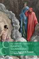 Cambridge Companion to Dante's `Commedia', The Cambridge Companion to Dante's `Commedia'