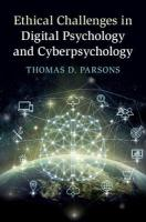 Ethical Challenges in Digital Psychology and Cyberpsychology