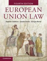European Union Law: Text and Materials 4th Revised edition