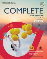 Complete 2nd Revised edition, Complete Preliminary Student's Book with Answers with Online Practice: For   the Revised Exam from 2020