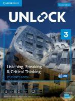Unlock Level 3 Listening, Speaking & Critical Thinking Student's Book, Mob   App and Online Workbook w/ Downloadable Audio and Video 2nd Revised edition, Unlock Level 3 Listening, Speaking & Critical Thinking Student's Book, Mob   App and Online Workbook w/ Downloadable Audio and Video