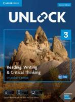 Unlock Level 3 Reading, Writing, & Critical Thinking Student's Book, Mob App   and Online Workbook w/ Downloadable Video 2nd Revised edition, Unlock Level 3 Reading, Writing, & Critical Thinking Student's Book, Mob   App and Online Workbook w/ Downloadable Video