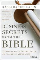 Business Secrets from the Bible: Spiritual Success Strategies for Financial Abundance