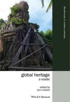 Global Heritage: A Reader