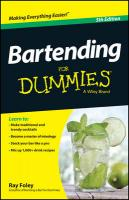 Bartending For Dummies 5th Revised edition