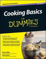 Cooking Basics For Dummies 5th Edition