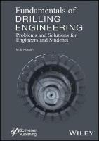 Fundamentals of Drilling Engineering: MCQs and Workout Examples for Beginners and Engineers