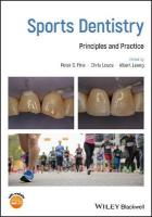 Sports Dentistry: Principles and Practice